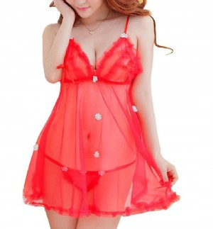 Fire Fond Premium Babydoll Dress for Lingerie